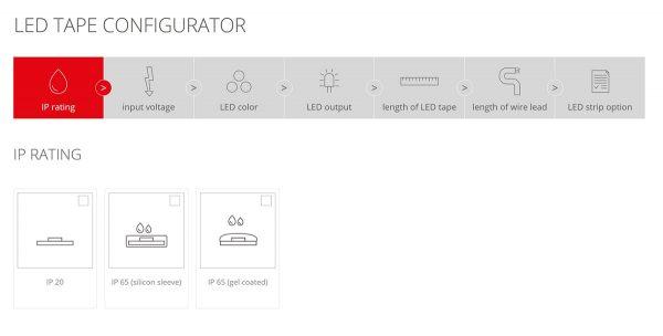 Configurator Banda LED